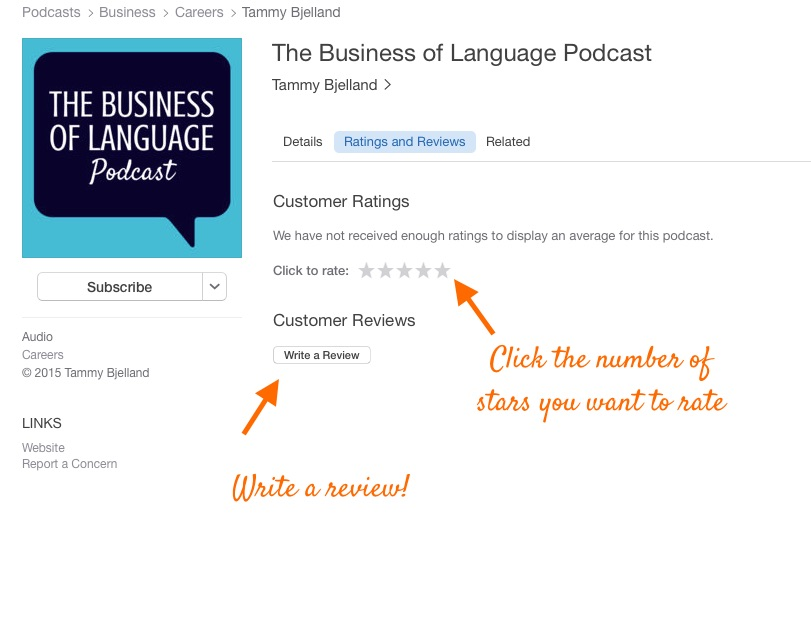 review podcast