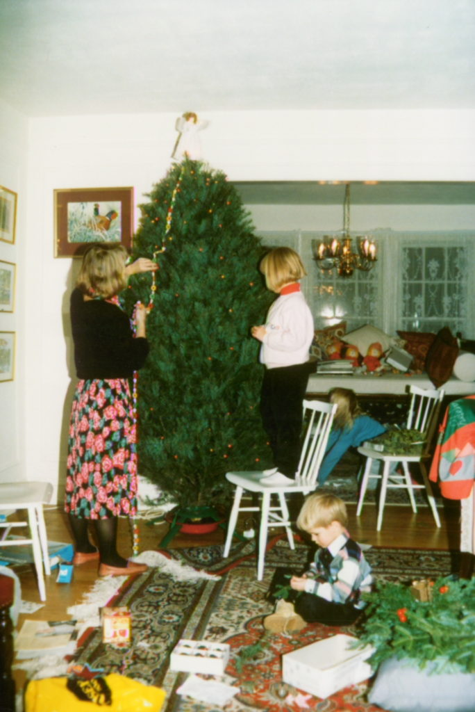 Christmas 1987 or 1988? Manhasset, NY